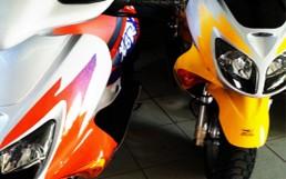 fuhrpark motorrad HONDA RollerX8R X uai