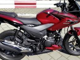 fuhrpark motorrad hondaCBF125 uai